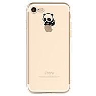 Недорогие Кейсы для iPhone 8-Кейс для Назначение Apple iPhone X iPhone 8 Кейс для iPhone 5 iPhone 6 iPhone 7 С узором Кейс на заднюю панель Композиция с логотипом