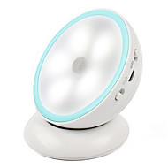 Недорогие Интеллектуальные огни-0.5w творческая спальня коридор 360 градусов вращающийся водить зарядки человек лампа индукции (5v USB зарядка)