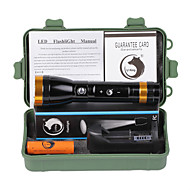 U'King LED Flashlights / Torch LED 2000 lm Mode Cree XM-L T6 - with Battery and Charger Rechargeable Strike Bezel Emergency