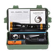 U'King Linternas LED Kits de Linternas LED 2000 lm Modo Cree XM-L T6 - Recargable Bisel de Impacto Emergencia para