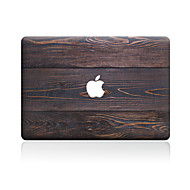 voordelige Mac-skinstickers-1 stuks Skinsticker voor Krasbestendig Houtnerf Patroon PVC MacBook Pro 15'' with Retina MacBook Pro 15 '' MacBook Pro 13'' with Retina