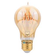E27 led filamentpærer a60 (a19) smd 4w 400 lm varm hvit dekorative ac 220-240 v 1 stk
