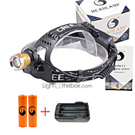 U'King Headlamps Headlight LED 3000 lm 4 Mode Cree XP-E R2 with Batteries and Charger Zoomable Adjustable Focus Compact Size Counterfeit