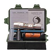 U'King Linternas LED Kits de Linternas LED 2000 lm 5 Modo Cree XM-L T6 Enfoque Ajustable Clip Zoomable para Camping/Senderismo/Cuevas De