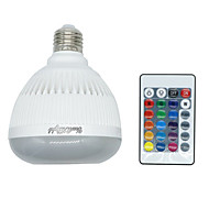 4W E26 E27 LED Έξυπνες Λάμπες 350 lm RGB κ Bluetooth Με ροοστάτη Τηλεχειριζόμενο V