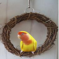 Kuş Tünek & Merdivenler Ahşap Kahverengi