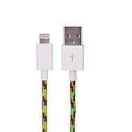 iphone 7 6SプラスSE 5S、iPadの、1メートルのためのUSB 2.0充電同期ケーブルにhxinhナイロン編組MFI認定雷、
