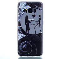 Недорогие Чехлы и кейсы для Galaxy S8-Кейс для Назначение SSamsung Galaxy S8 Plus / S8 Сияние в темноте / С узором Кейс на заднюю панель Пейзаж Мягкий ТПУ для S8 Plus / S8 / S7 edge
