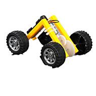 お買い得  -Crab Kingdom 太陽光エネルギーおもちゃ 車載 クリエイティブ アイデアジュェリー メタリック プラスチック おもちゃ ギフト
