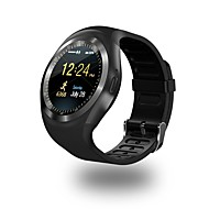 Smartwatch YY Y1 for Android iOS Bluetooth Sports Heart Rate Monitor Touch Screen Calories Burned Long Standby Activity Tracker Sleep Tracker Sedentary Reminder Find My Device / Pedometers / IPhone