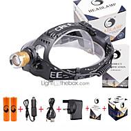 U'King Linternas de Cabeza LED 3000 Lumens 4.0 Modo Cree XP-E R2 Sí Enfoque Ajustable Detector de Falsificaciones Fácil de Transportar