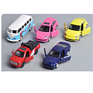 Fahrzeug-Spiele nach Themen Spielzeugautos Rennauto Polizeiauto Spielzeuge Auto Metalllegierung Metal Klassisch & Zeitlos Chic & Modern 1