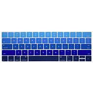 お買い得  -xskn®英語勾配シリコーンキーボードの皮とタッチバー網膜と13.3 / 15.4プロ2016の最新のMacBook用touchbarプロテクター(私たちのレイアウト)