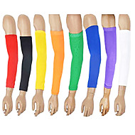 tanie Odzież sportowa-Dla obu płci Ochraniacze Rękawy Arm na Camping & Turystyka Wspinaczka Fitness Badminton Koszykówka Piłka nożna Baseball Rozciągać