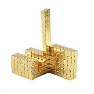 abordables Juguetes Novedosos-64 pcs 5mm Juguetes Magnéticos Bloques de Construcción Cubos mágicos Puzzle Cube Magnética Chico Chica Juguet Regalo