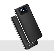cheap iPhone Universal Accessories-power bank external battery 4.7V 2.0A #A Battery Charger Flashlight Multi-Output Super Slim LCD