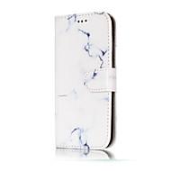 Недорогие Чехлы и кейсы для Galaxy A3(2016)-Кейс для Назначение SSamsung Galaxy A5(2017) A3(2017) Бумажник для карт Кошелек со стендом Флип С узором Чехол Мрамор Твердый Кожа PU для