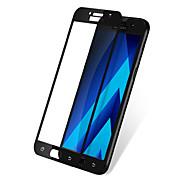 abordables Galalxy A Protectores de Pantalla-Protector de pantalla Samsung Galaxy para A5 (2017) Vidrio Templado 1 pieza Protector de Pantalla Frontal A prueba de explosión Borde
