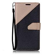 tanie Etui na telefony-Kılıf Na LG LG K10 LG K7 Etui na karty Portfel Z podpórką Flip Magnetyczne Pełne etui Solid Color Twarde Skóra PU na LG V20 LG G6
