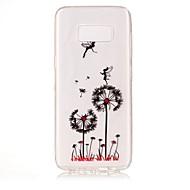Недорогие Чехлы и кейсы для Galaxy S7 Edge-Кейс для Назначение SSamsung Galaxy S8 Plus S8 IMD Прозрачный С узором Задняя крышка одуванчик Мягкий TPU для S8 S8 Plus S7 edge S7 S6