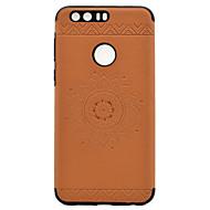 Для Рельефный С узором Кейс для Задняя крышка Кейс для Мандала Мягкий Искусственная кожа для HuaweiHuawei P9 Huawei P9 Lite Huawei Honor