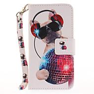 abordables Ofertas de Hoy-Funda Para Apple iPhone 7 Plus iPhone 7 Soporte de Coche Cartera con Soporte Flip Diseños Funda de Cuerpo Entero Perro Dura Cuero de PU