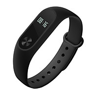 cheap Smart Activity Trackers, Clips & Wristbands-Xiaomi Mi band 2 Activity Tracker Smart Bracelet iOS Android Touch Screen Heart Rate Monitor Long Standby Water Resistant / Water Proof Calories
