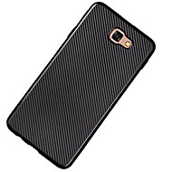 abordables Galaxy J1 Carcasas / Fundas-Funda Para Samsung Galaxy J7 Prime J5 Prime Ultrafina Funda Trasera Color sólido Suave TPU para J7 Prime J7 (2016) J7 J5 Prime J5 (2016)