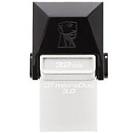 キングストンdtduo3 32ギガビットusb 3.0フラッシュドライブotgマイクロusbミニ超コンパクト