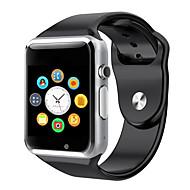 Недорогие Браслеты и трекеры для активного образа жизни-Смарт Часы iOS Android GPS Сенсорный экран Педометры Медобеспечение Фотоаппарат будильник Хендс-фри звонки Найти мое устройство Контроль