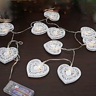 1 stks 5 v 1.2 m 10 leds warm wit vakantie decoratie decoratieve led lichtslingers