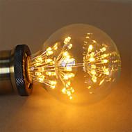 1kpl e27 g95 2,5w 300-350lm led-hehkulamppuja cob lämmin valkoinen ilotulitus lamppu ac220-240v