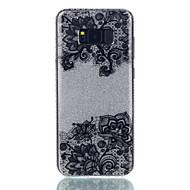 Для IMD С узором Кейс для Задняя крышка Кейс для Кружевной дизайн Сияние и блеск Цветы Твердый PC для Samsung S8 S8 Plus S7 edge S7