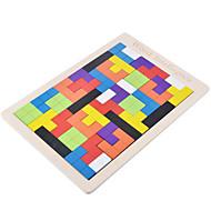 billiga -Pussel Träpussel Byggblock GDS-leksaker Fyrkantig Trä Originella och skämtleksaker