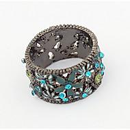 Муж. Жен. Классические кольца Кольцо Синтетический алмаз Базовый дизайн Уникальный дизайн С логотипом Цветочный дизайн Цветы Дружба