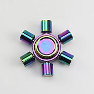 Fidget spinner -stressilelu hand Spinner Lelut kuusi Spinner Metalli EDCOffice Desk Lelut Killing Time Focus Toy Lievittää ADD, ADHD,