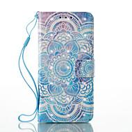 Для Кошелек Бумажник для карт со стендом Флип С узором Кейс для Чехол Кейс для Мандала Твердый Искусственная кожа для SamsungA3 (2017) A5