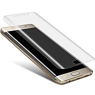 お買い得  Samsung 用スクリーンプロテクター-スクリーンプロテクター Samsung Galaxy のために S7 edge TPU 1枚 スクリーンプロテクター 2.5Dラウンドカットエッジ ハイディフィニション(HD)
