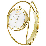 WeiQin Damen Modeuhr Chinesisch Quartz Legierung Band Silber Gold Rotgold