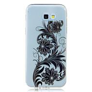 Для Samsung Galaxy a7 a5 (2017) покрытие корпуса pteris узор hd окрашенный high penetration tpu материал мягкий чехол для телефона a3
