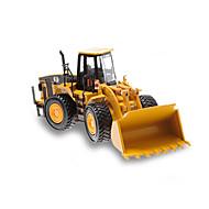 Gegoten voertuigen Speelgoedauto's Speeltjes Constructievoertuig Bulldozer Graafmachine Speeltjes Eend Graafmachine Metaallegering Metaal