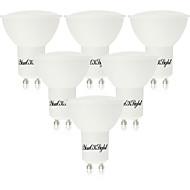 お買い得  LED スポットライト-youoklight 6pcs gu10 6w 450-500lm ac85-265v 10smd 5730温かい白い/涼しい白いプラスチックコーティングされたアルミニウムはスポットライトを導いた