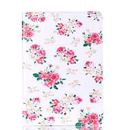 Apple iPad 4 3 2 burkolata, virágmintás kártya stent pu anyag sík védelmet shell