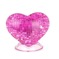 cheap Toys & Hobbies-3D Puzzles Crystal Puzzles Toys Heart-Shaped Roses 3D Heart Plastic Not Specified Pieces