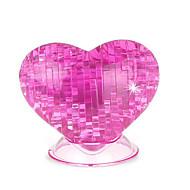 お買い得  おもちゃ & ホビーアクセサリー-3Dパズル クリスタルパズル バラ ハート 楽しい プラスチック クラシック 子供用 男女兼用 ギフト