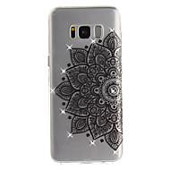 Кейс для Назначение SSamsung Galaxy S8 Plus S8 Стразы IMD Прозрачный Задняя крышка Цветы Мягкий TPU для S8 S8 Plus S7 edge S7