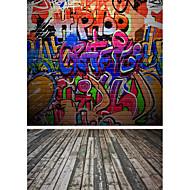 5 * 7ft צילום רקע גדול רקע קלאסי אופנה עץ רצפת עץ עבור צלם מקצועי סטודיו