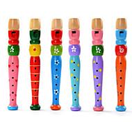 hesapli Oyuncaklar & Hobi Gereçleri-Eğitici Oyuncak Silindirik Tahta Hudební nástroje hračky Çocuklar için Unisex Hediye