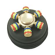 Fidget Spinners Przędzarka ręczna Zabawki Sześć Spinner Metal EDCStres i niepokój Relief Zabawki biurkowe Zwalnia ADD, ADHD, niepokój,