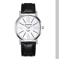 abordables Relojes de Moda-Mujer Reloj de Moda Cuarzo 30 m Resistente al Agua Piel Banda Analógico Casual Negro / Marrón - Negro Plata Marrón / Acero Inoxidable
